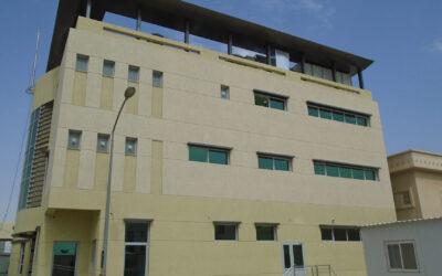 مشروع مبنى خدمات الحرس الوطني الكويتي